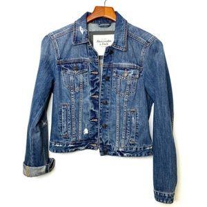 ABERCROMBIE & FITCH New York Denim Jacket